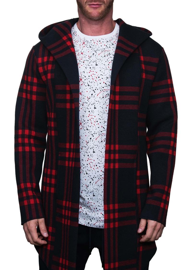 Maceoo Plaid Hooded Jacket