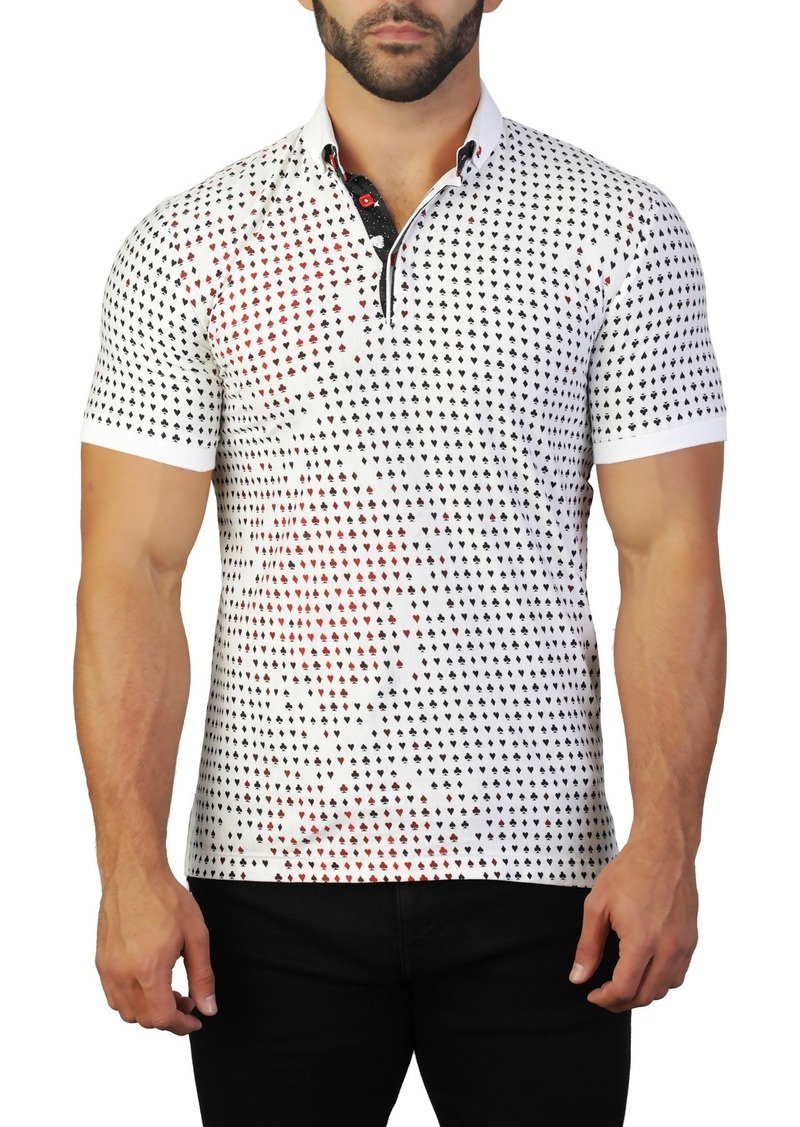 Maceoo Mozart Card Tailored Fit Polo