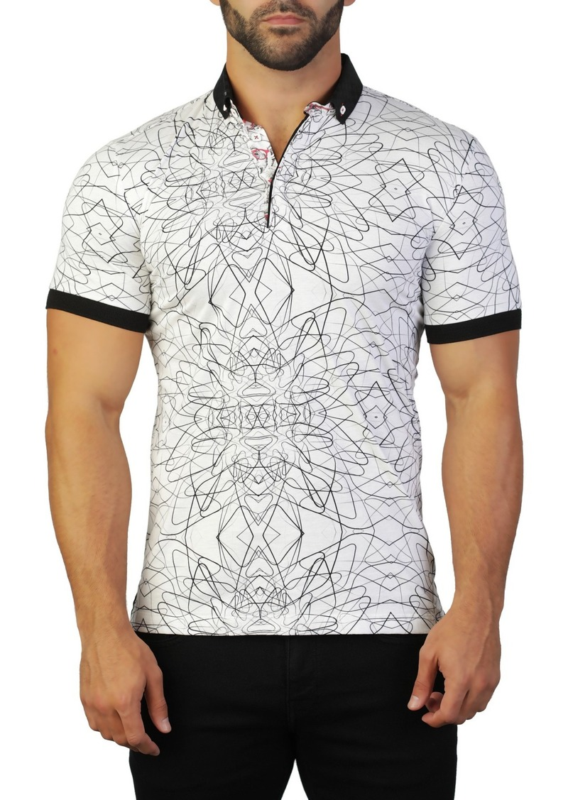 Maceoo Mozart Line Tailored Fit Polo