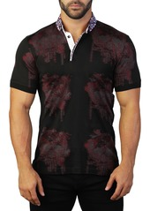 Maceoo Mozart Skull Tailored Fit Polo