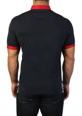 Maceoo Mozart Splash Tailored Fit Polo