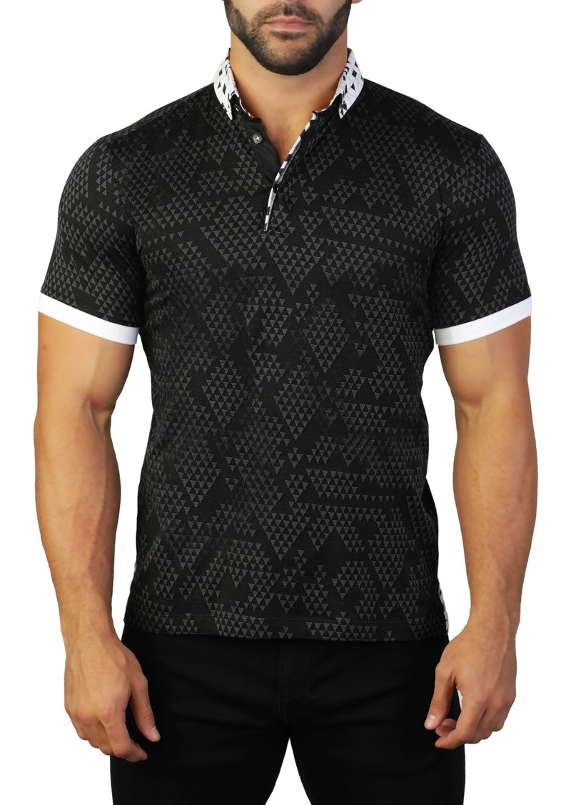 Maceoo Mozart Triangle Tailored Fit Polo