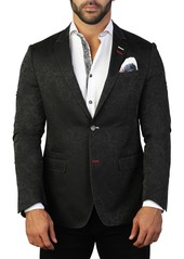 Maceoo Socrate Branch Two Button Tailored Fit Suit Separate Blazer