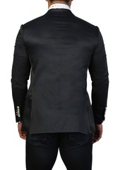 Maceoo Socrate Diamond Two Button Tailored Fit Suit Separate Blazer
