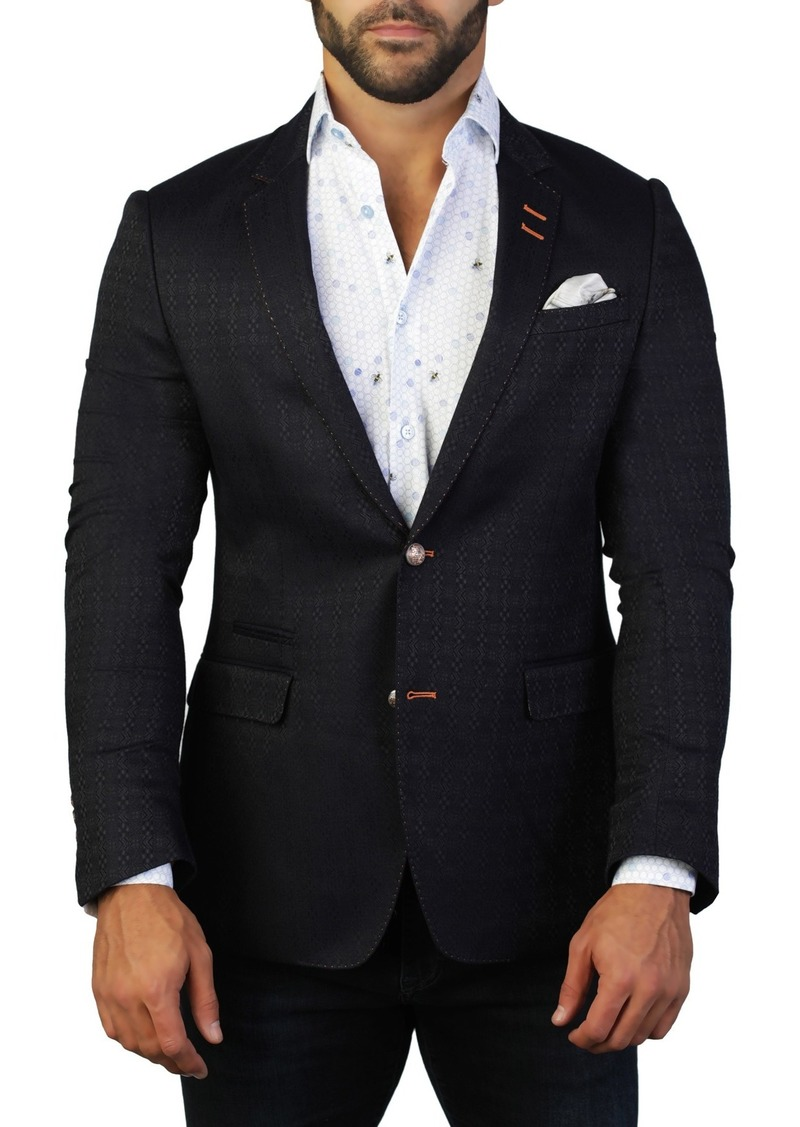Maceoo Socrate Direction Two Button Tailored Fit Suit Separate Blazer
