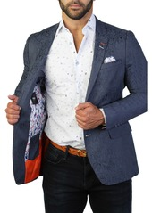 Maceoo Socrate Paisley Two Button Tailored Fit Suit Separate Blazer