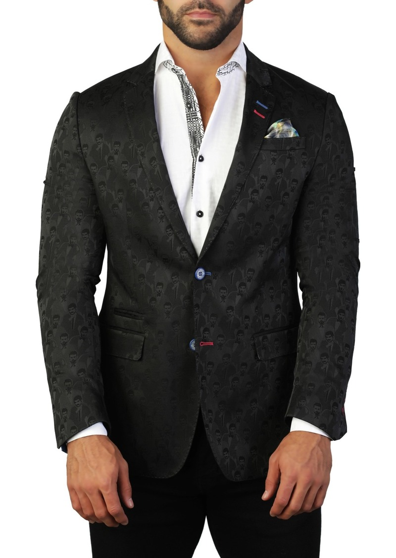 Maceoo Socrate People Two Button Tailored Fit Suit Separate Blazer