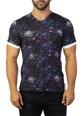 Maceoo Vivaldi V-Neck Planet T-Shirt