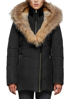 Mackage Akiva Waterproof Down Coat w/ Fur Hood