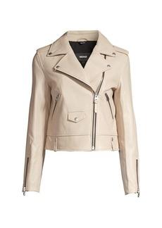 Mackage Baya Motto Leather Jacket