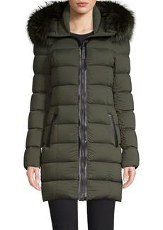 Mackage Calla Fox Fur Down Coat