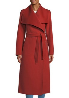 Mackage Double-Face Wool Trench Coat w/ Belt