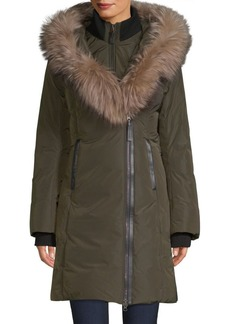 Mackage Kay-X Fox Fur Collar Down Coat