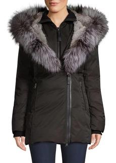 Mackage Priya-X Fox Fur-Trim Down Coat