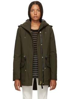 Mackage Green Alaia Powder Touch Down Coat