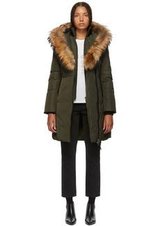 Mackage Green Kay Classic Down Coat