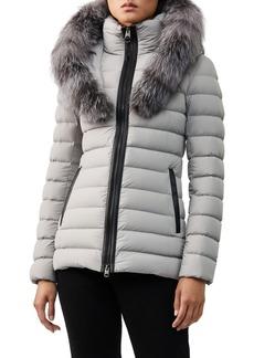 Mackage Kadalina Fur-Trim Hooded Puffer Coat