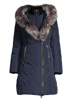 Mackage Kay Fox Fur-Trim Down Jacket