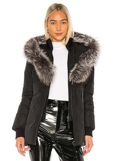 Mackage Adali Jacket With Fox Fur Collar