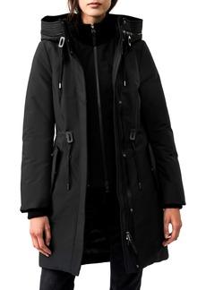 Mackage Beckah Powder Touch Waterproof Down Coat