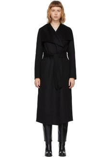 Mackage Black Wool Mai Coat