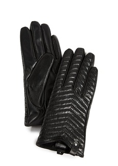 Mackage Cano Leather Tech Gloves