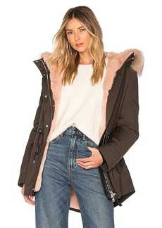 Mackage Chara Jacket With Fur Trim