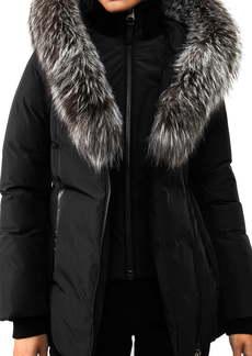 Mackage Adali-XR Classic Genuine Fox Fur Trim Water Repellent Down Coat