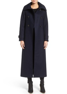 Mackage Elodie Double Breasted Military Maxi Coat