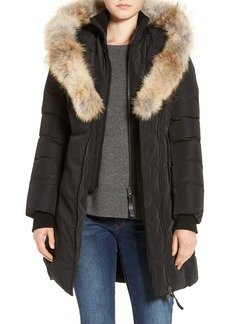 Mackage Down Puffer with Coyote Fur Trim