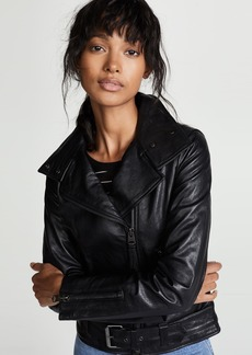 Mackage Emily Leather Moto Jacket