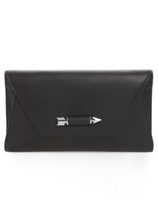 Mackage Flex Leather Envelope Clutch