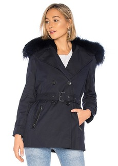 Mackage Frida Jacket With Fur Collar