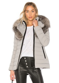 Mackage Kadalina Jacket With Fox Fur Collar