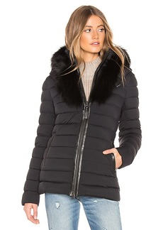 Mackage Kadalina Jacket With Fur Collar