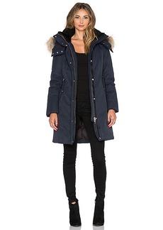 Mackage Kerry Jacket with Asiatic Raccoon Fur and Sheepskin