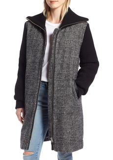 Mackage Knit Trim Down Coat