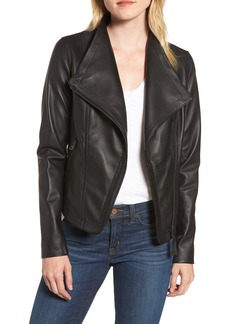 Mackage Pina-L Leather Moto Jacket