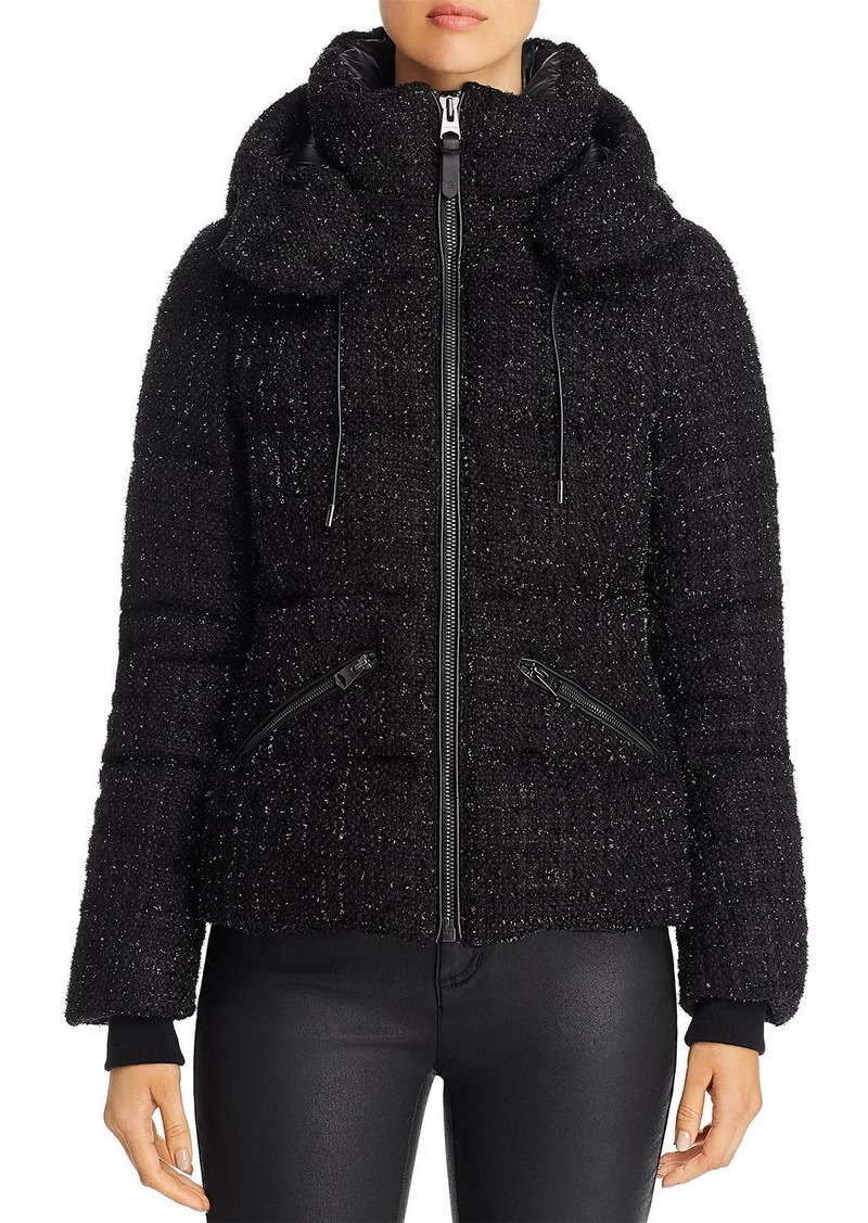 Mackage Madalyn Tweed Short Down Coat - 100% Exclusive