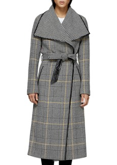 Mackage Mai Houndstooth Check Trench Coat