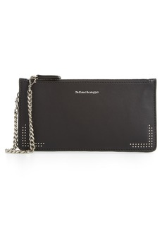 Mackage REM Double Zip Nappa Leather Pouch