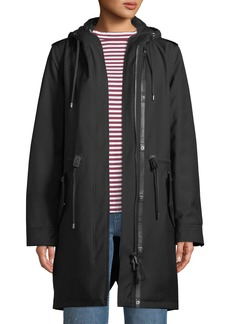 Mackage Renina Two-in-One Down-Filled Anorak Coat w/ Rain Shell