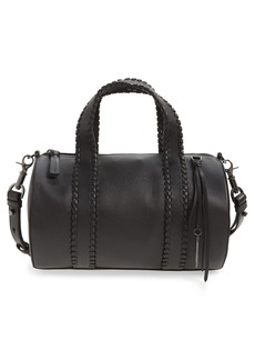 Mackage Whipstitch Leather Duffel