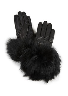 Mackage Witty Leather Tech Gloves