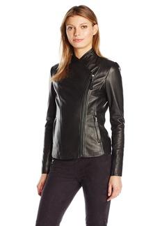 Mackage Women's Cleo Leather Jacket  L