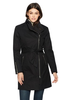 Mackage Women's Estela-d Long Sleeve Belted Trench Coat W/Removable Liner  S