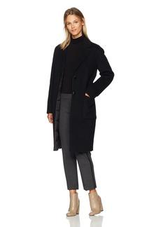 Mackage Women's Heida Reversible Coat W/Wool Outershell and Down Inner  L