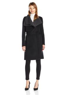 Mackage Women's Iza Double Collar Wool Jacket  S