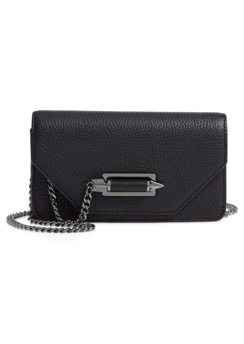 MACKAGE Zoey Leather Clutch