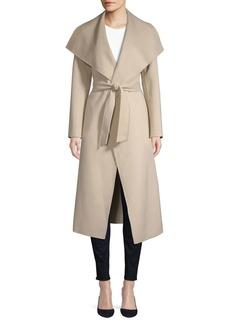 Mackage Mai Asymmetrical Wool Coat